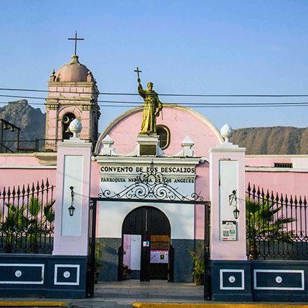 """Fraternidad Santa María de los Ángeles<br /> • Parroquia """"Ntra. Sra. de los Ángeles""""<br /> • Casa de Retiro """"San Francisco Solano""""<br /> • Policlínico Ntra. Sra. de los Ángeles<br /> • IEI """"Los Ángeles""""<br /> • CETPRO """"Los Ángeles""""<br /> • Enfermería Provincial"""