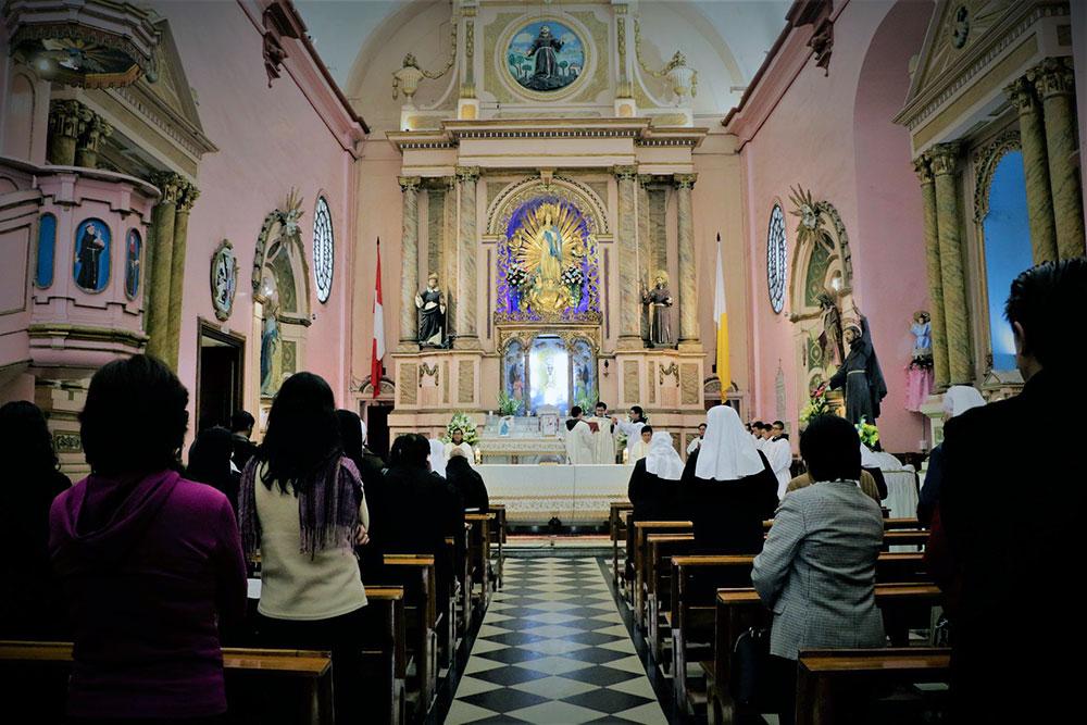 Celebración Eucarística por los 110 años de la Provincia Misionera de San Francisco Solano del Perú