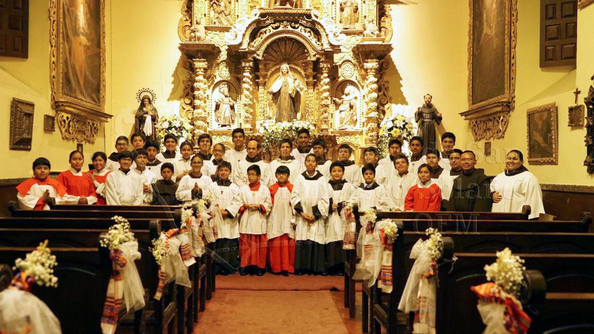 Encuentro de Monaguillos Franciscanos 2018