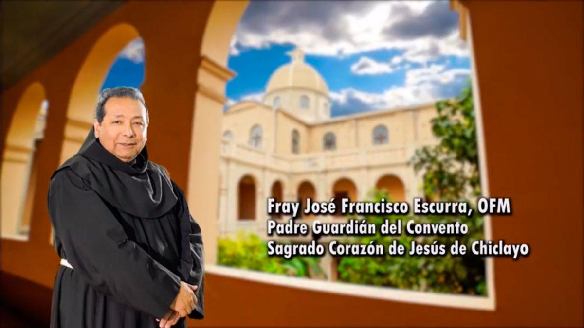 Conozcamos a nuestros frailes: Fray José Francisco Escurra Mayaute, OFM.
