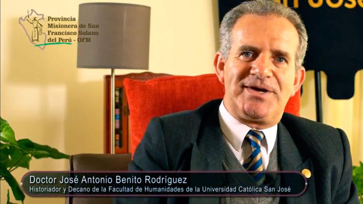 Un Santiamén: «San Francisco y Santo Toribio»
