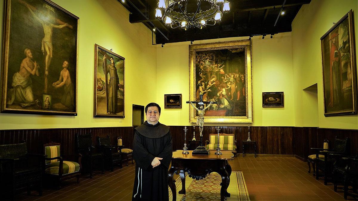 EVANGELIO DEL DOMINGO 11 DE NOVIEMBRE. FRAY ALEJANDRO WIESSE LEÓN, OFM