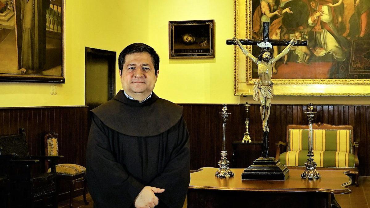 Saludo de nuestro Ministro Provincial Fray Alejandro Wiesse León, OFM