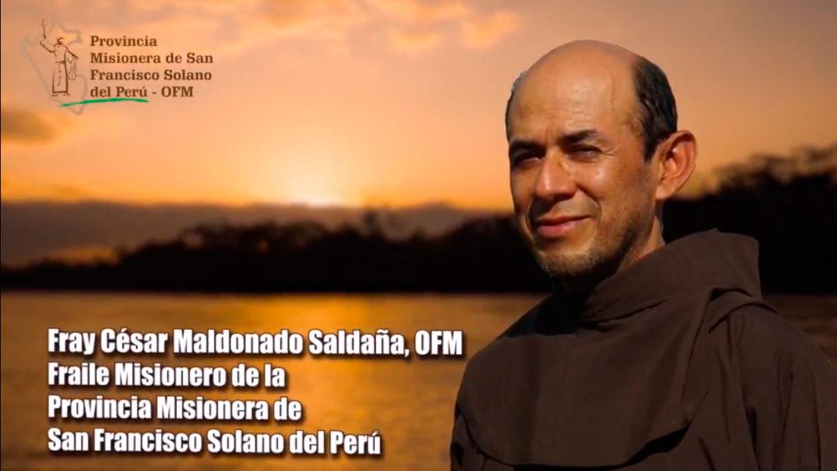Un Santiamén: Fray César Maldonado, OFM. Parte 1