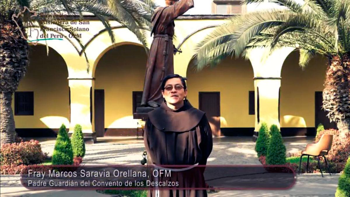 Saludo de nuestro Padre Guardián Fray Marcos Saravia Orellana, OFM