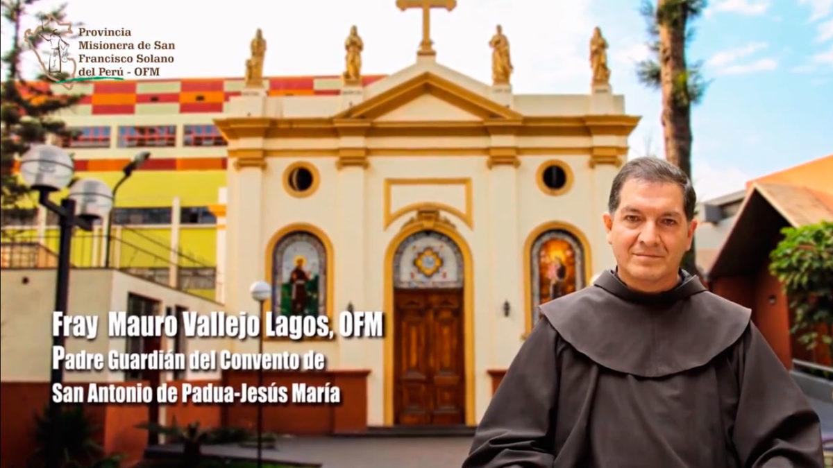 UN SANTIAMÉN: Fray Mauro Vallejo, OFM. Parte 1