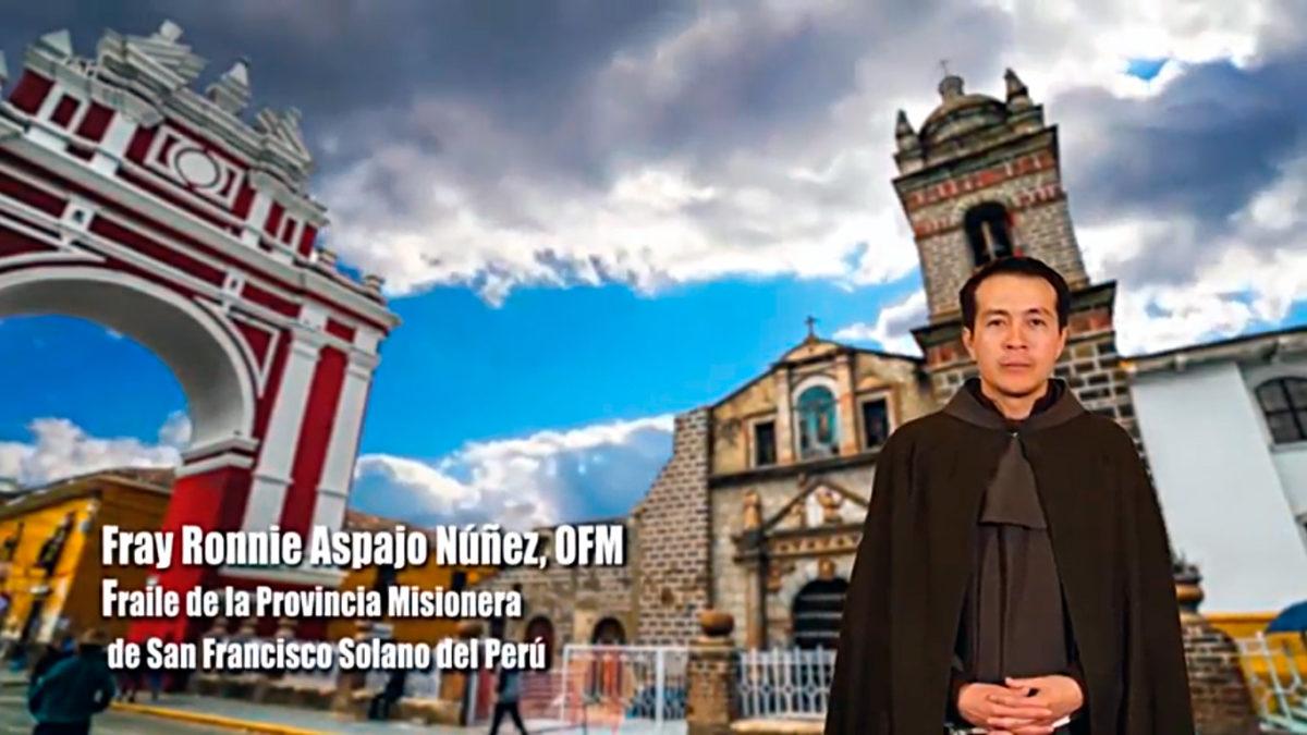 Un Santiamén: Fray Ronnie Aspajo, OFM. Parte 1