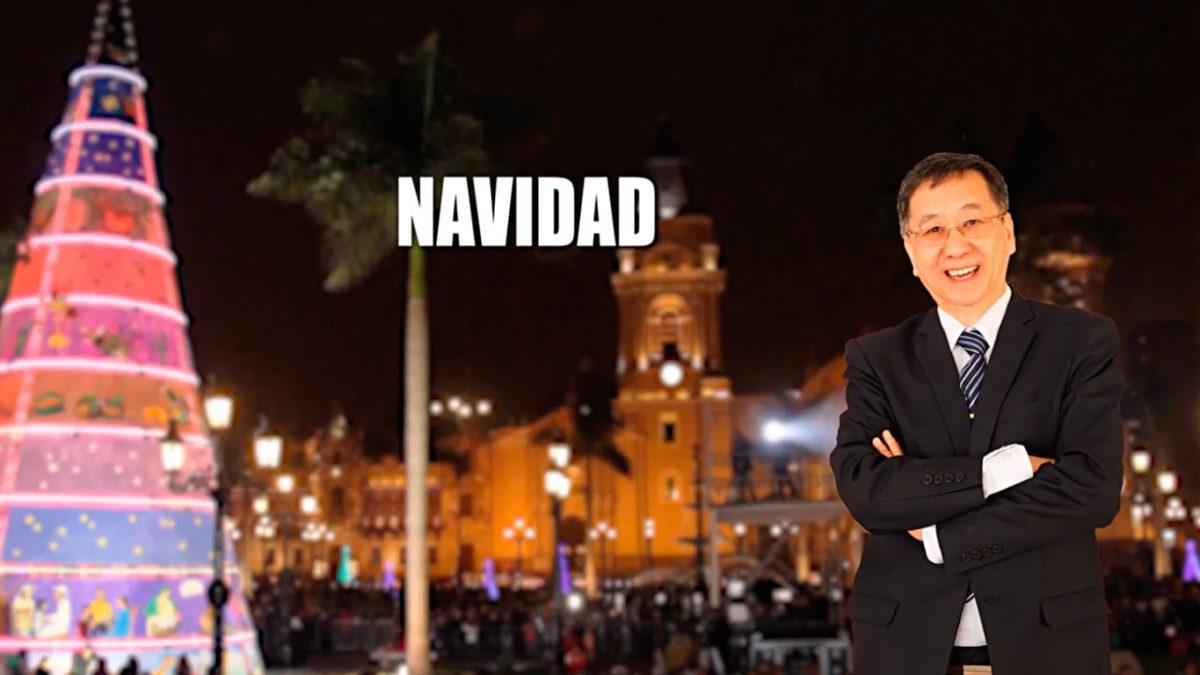 UN SANTIAMÉN: Saludo de Navidad del Lic. Carlos Chang Lam, Director de la IEP San Antonio de Padua
