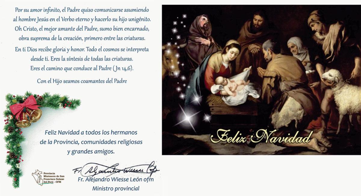 Saludos por Navidad