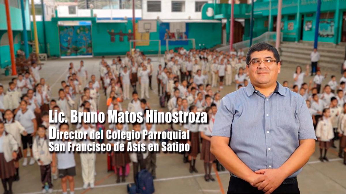 Mensaje del Director del Colegio Parroquial San Francisco de Asís en Satipo