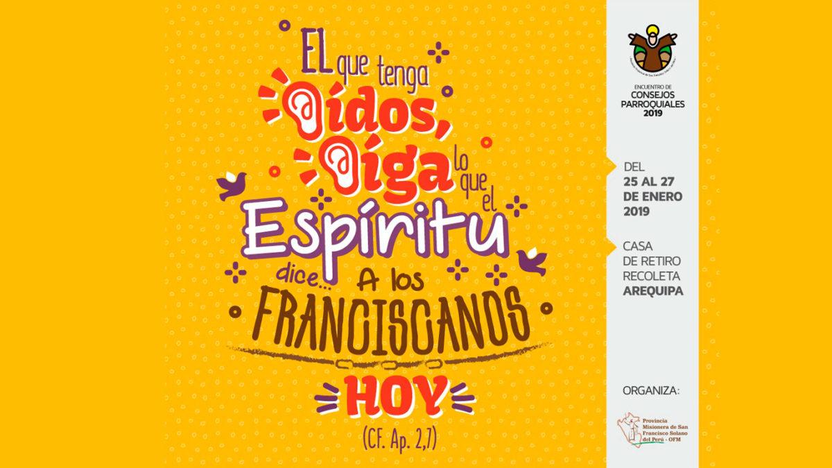 ENCUENTRO DE CONSEJOS PARROQUIALES 2019