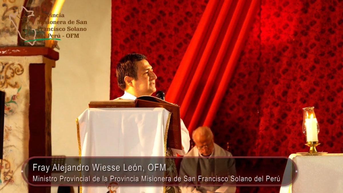 Misa de Gallo, homilía de Fray Alejandro Wiesse León, OFM