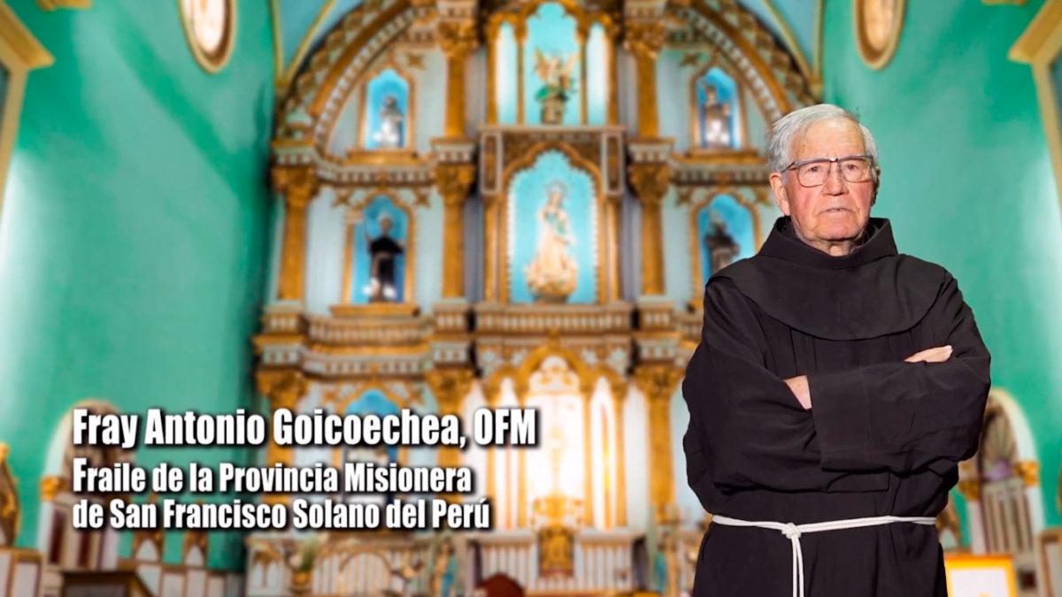 Conozcamos la vida de Fray Antonio Goicoechea OFM