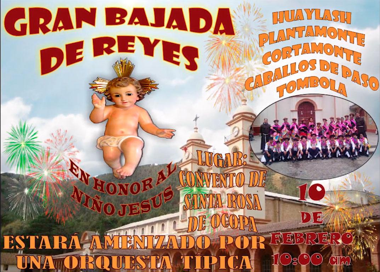 INVITACIÓN: Gran Bajada de Reyes en el Convento de Ocopa