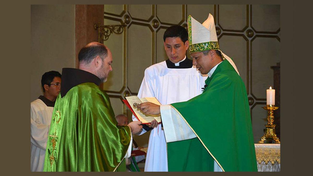 Toma de Posesión del nuevo Párroco, Fray Daniel Domínguez Espinosa, OFM