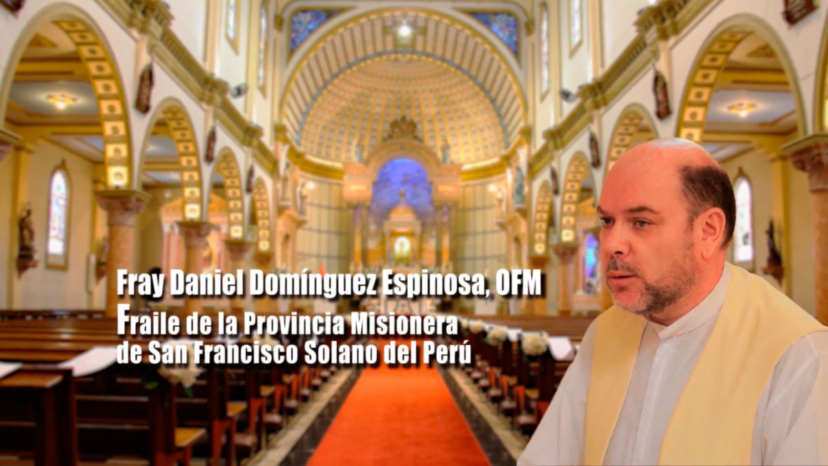 Palabras de Fray Daniel Domínguez Espinosa, OFM