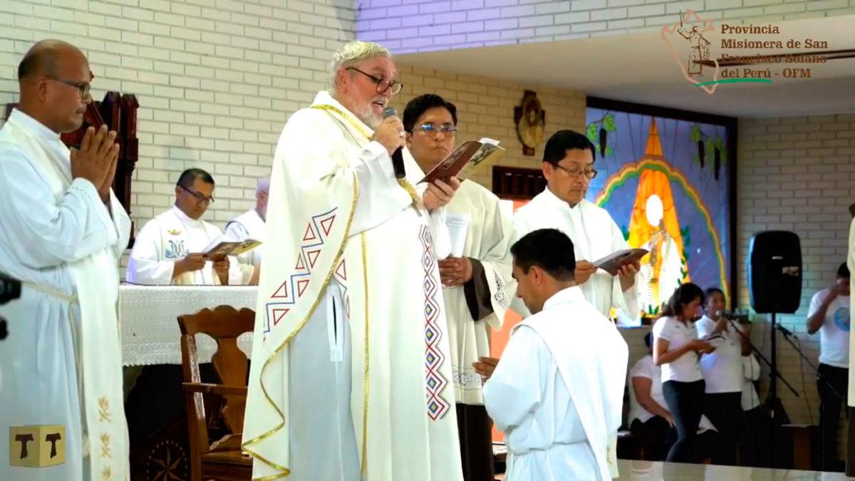 Ordenación Presbiterial de Fray Jinn Olivera, OFM