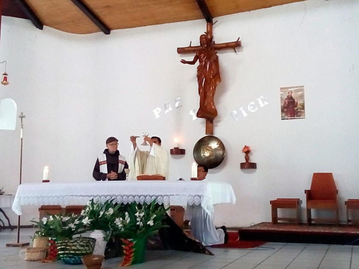 Primera Misa de Fray Jinn Olivera Gonzales, OFM