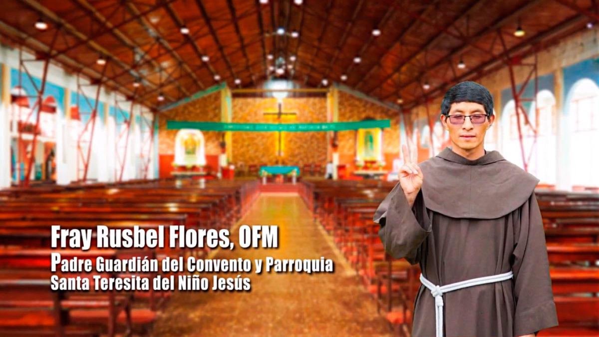 UN SANTIAMÉN con Fray Rusbel Flores Baltazar, OFM