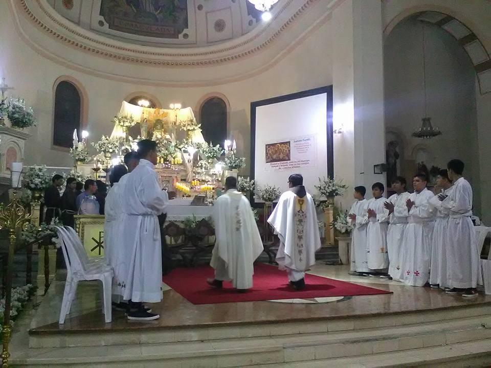 Ica – Jueves Santo: misa de la institución de la Eucaristía