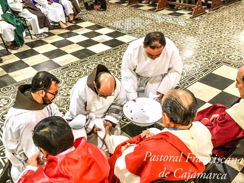 Cajamarca- Misa de Jueves Santo