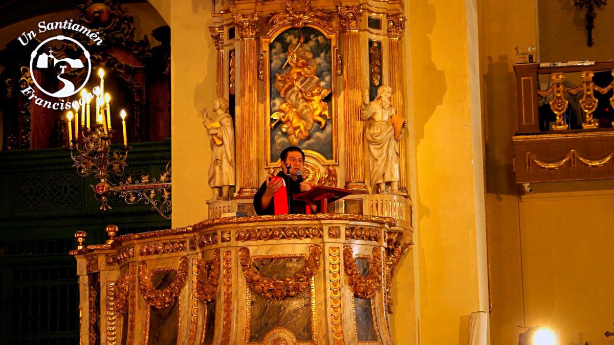 Sexta Palabra: Todo está Cumplido. Fr. Alejandro Wiesse, OFM