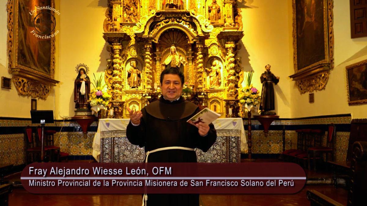 Saludo de Fray Alejandro Wiesse: 111 años de fundación de nuestra Provincia