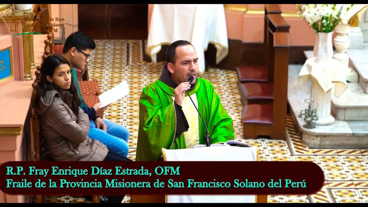 Si no amas a tu hermano, no puedes amar a Dios – Fr. Enrique Díaz, OFM