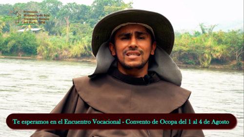 Encuentro Juvenil Vocacional Franciscano: 1 al 4 de agosto