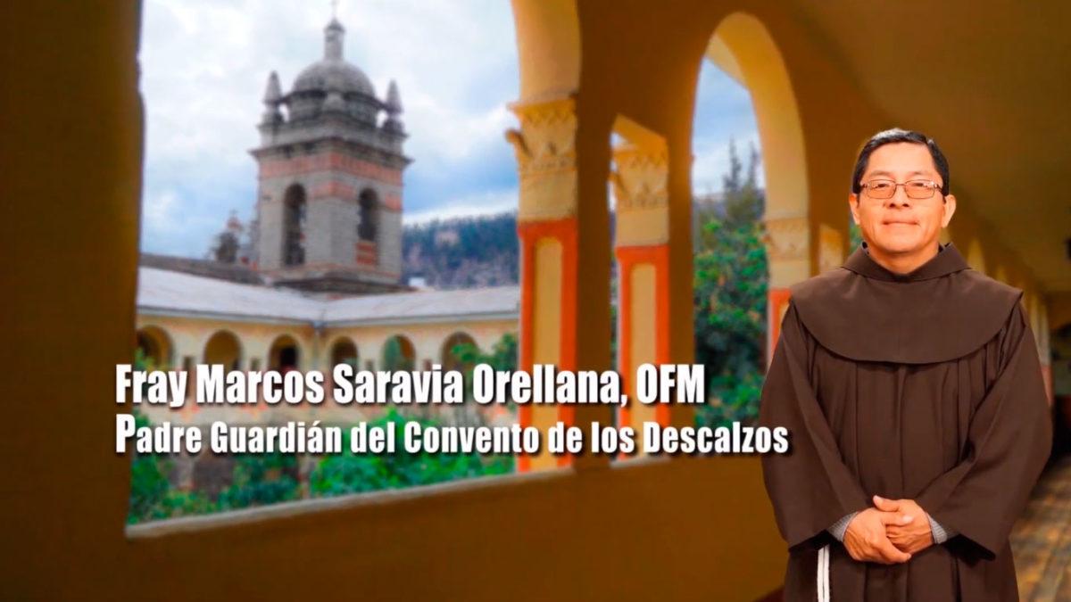 Fray Marcos Saravia, OFM ¡Felices Fiestas Patrias!