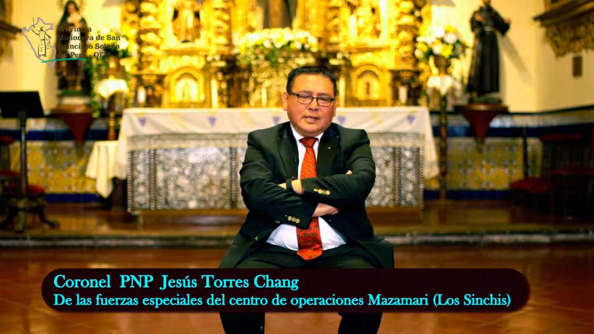 Testimonio del Coronel Jesús Torres Chang