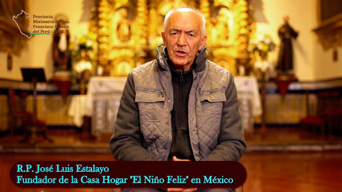 Un saludo del R.P. José Luis Estalayo