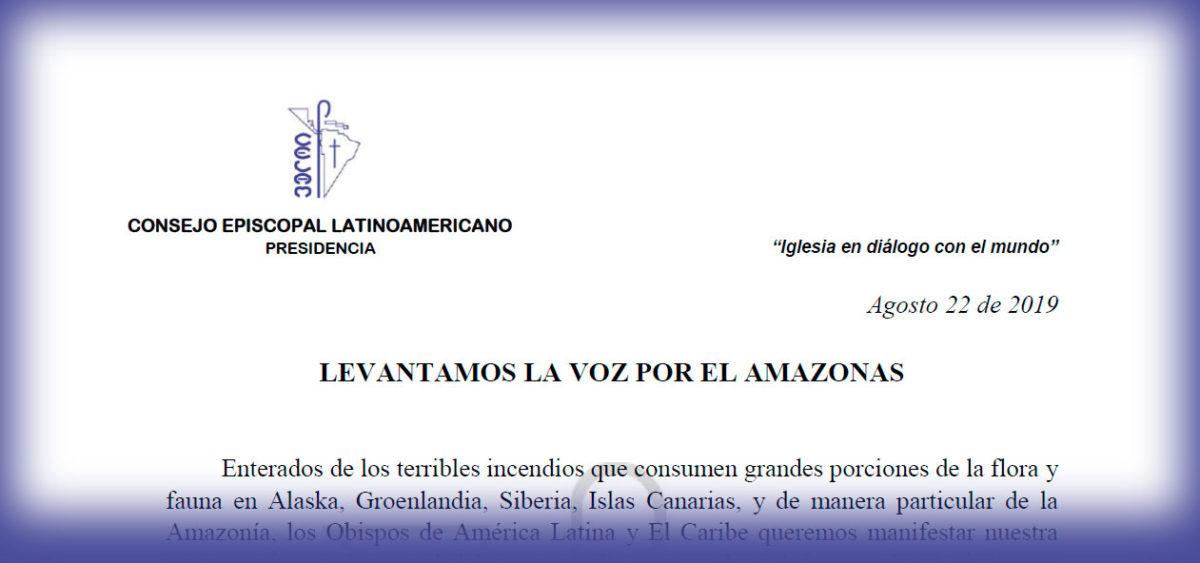 LEVANTAMOS LA VOZ POR EL AMAZONAS