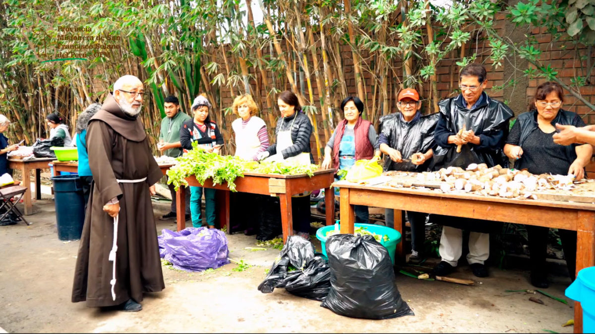 """Ayúdanos a preparar el """"Puchero Franciscano"""""""