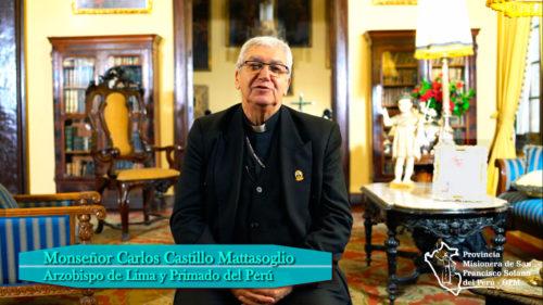 Saludo de Bienvenida de Monseñor Carlos Castillo Mattasoglio