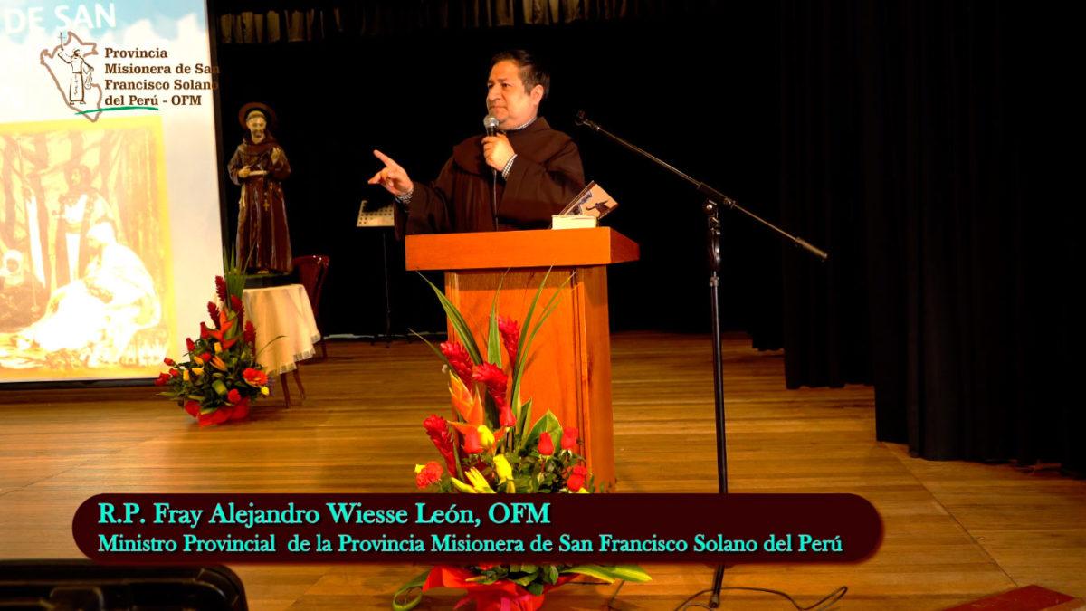 Inauguración de la Semana de Estudios Franciscanos-2019