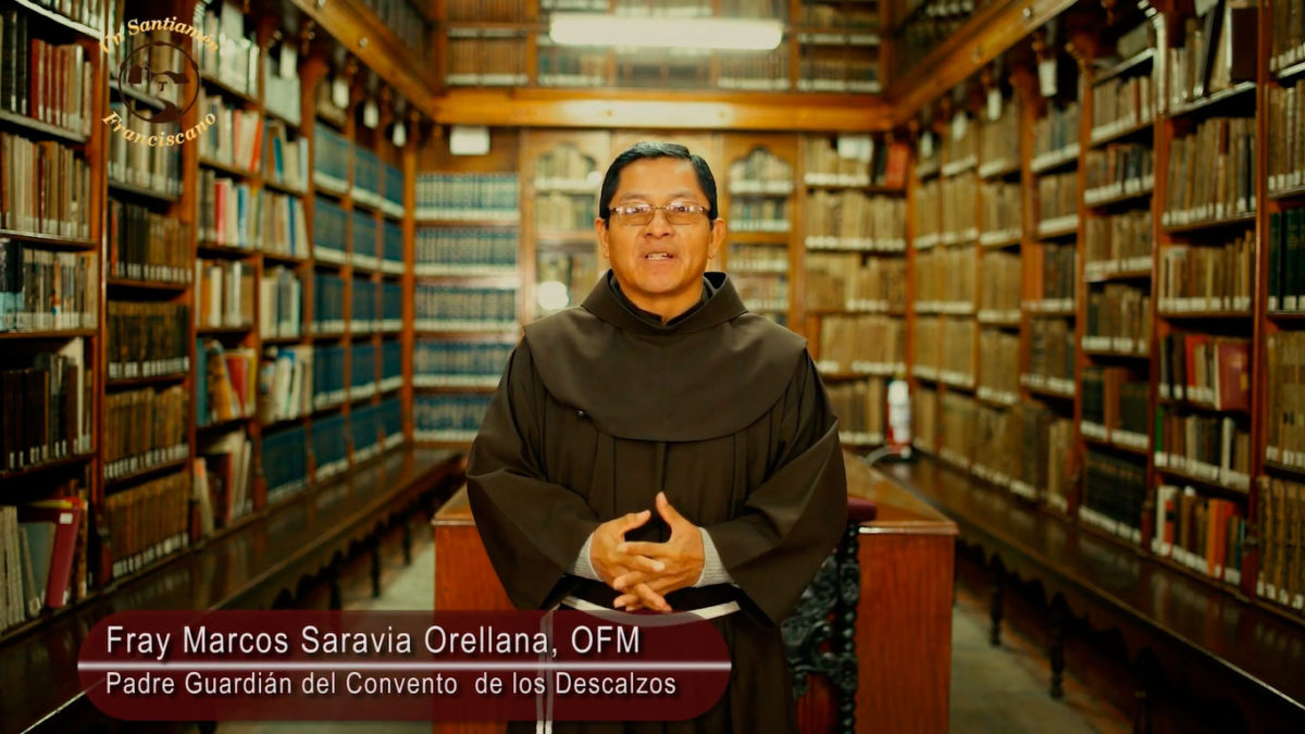 Fray Marcos Saravia, OFM: Lectura del Evangelio según San Lucas 15, 1-32