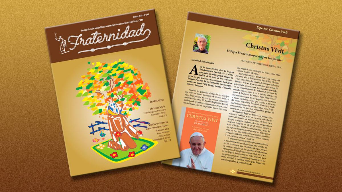 """Edición Agosto 2019 – Revista """"FRATERNIDAD"""""""