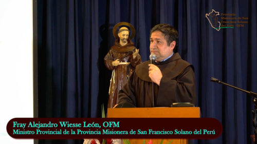 «Tenemos que ayudar a Dios» – Fray Alejandro Wiesse León, OFM