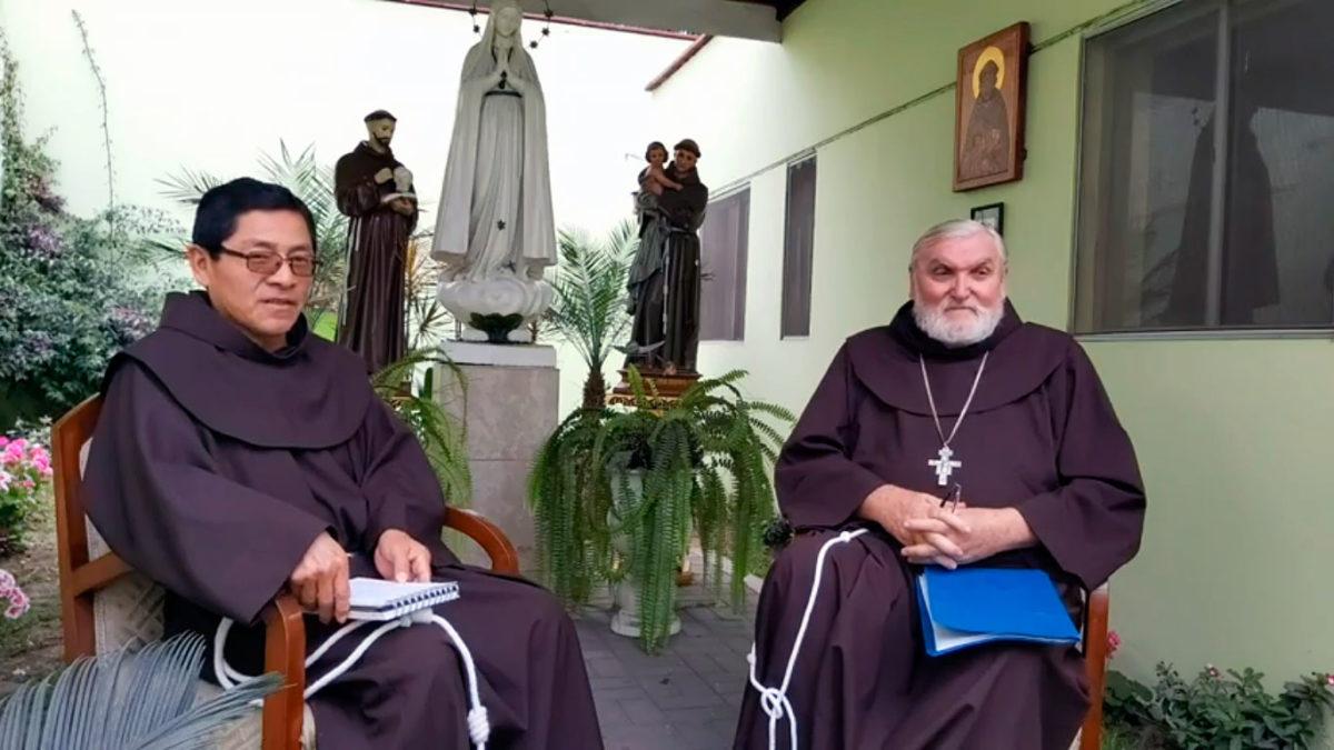 Entrevista a Monseñor Gerardo Zerdin, OFM, Obispo de San Ramón