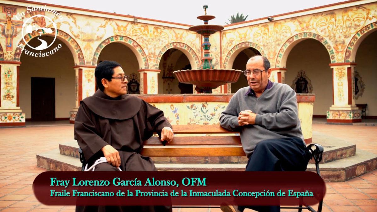 Entrevista a Fray Lorenzo García Alonso, OFM