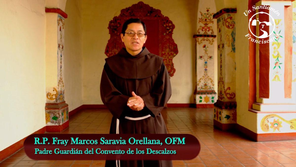 Fray Marcos Saravia: Lectura del Evangelio según San Lucas 21, 5-19