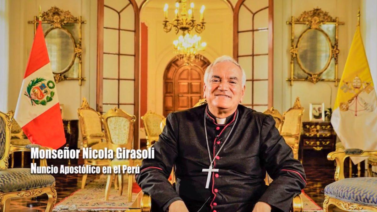 Mensaje por Navidad de Monseñor Nicola Girasoli a los Franciscanos.