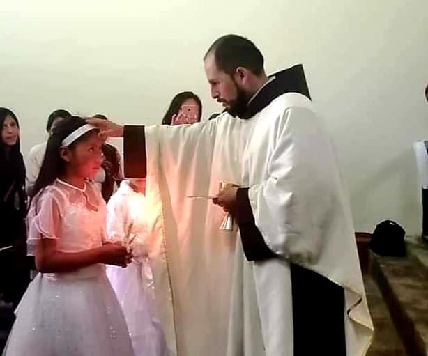 Fray Marco Antonio Quinteros en el convento de Ocopa