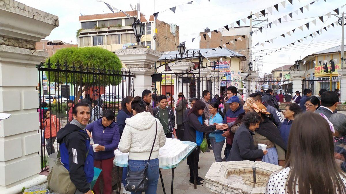 Desde nuestra fraternidad en Huancayo