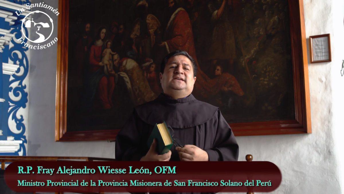 Fray Alejandro: Lectura del Evangelio según san Mateo 2, 13-15. 19-23