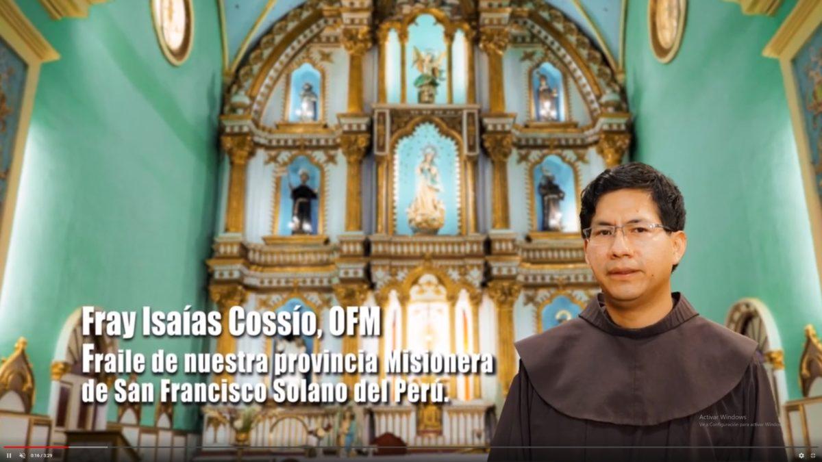 Fray Isaías Cossío: Lectura del Evangelio según San Mateo 1, 18-24