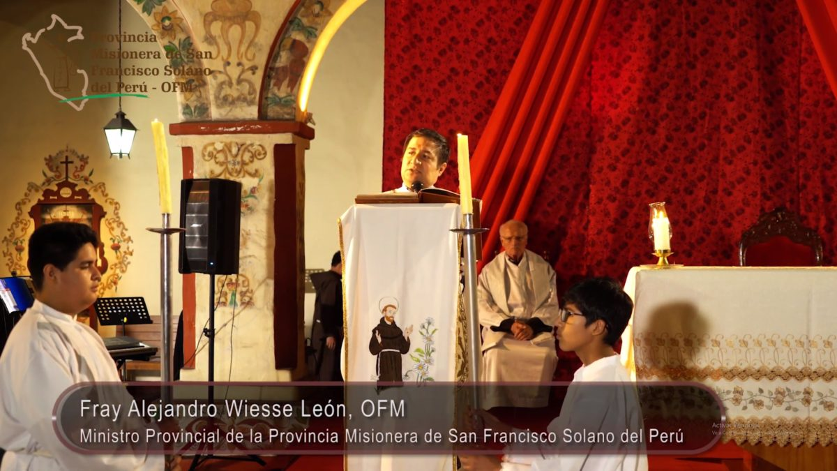 Misa de Gallo, homilía de Fray Alejandro Wiesse León, OFM. Nochebuena 2018