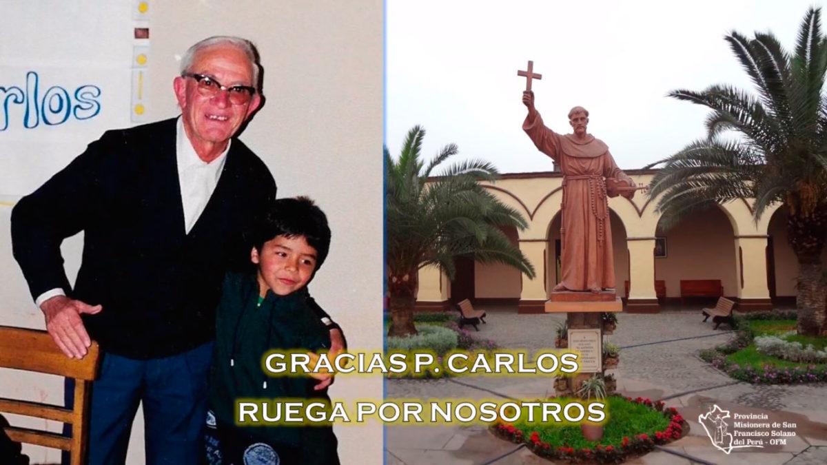 RP. Fray Carlos Lafuente Larrauri, OFM