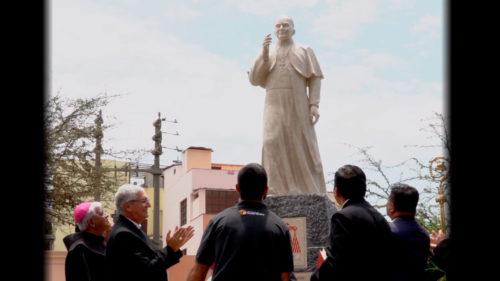 Inauguración del Monumento al Cardenal Juan Landázuri Ricketts-Resumen
